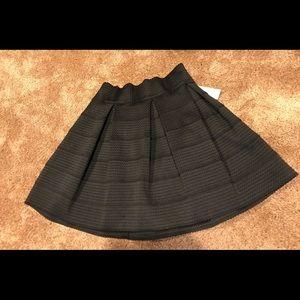 NWT Black Skater Skirt Size Large